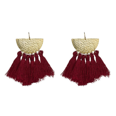Sunrise Tassel Earrings *As seen on Jessica Alba*