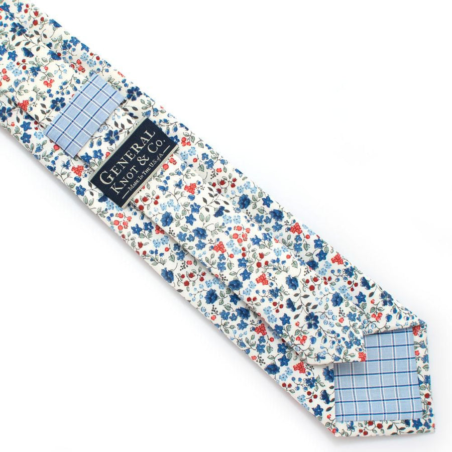 Sussex Country Floral Necktie