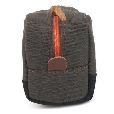 Hey Handsome Shaving Kit Bag - Army Green