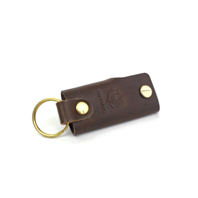 Leather Key Case - Walnut