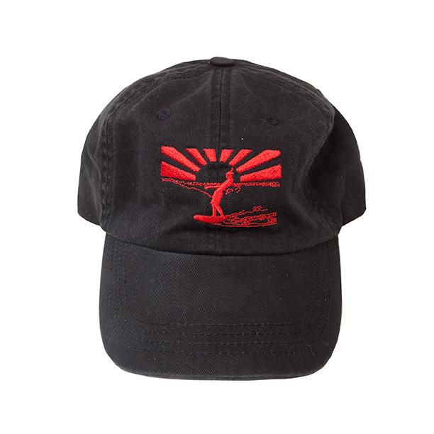 Sunset Surfer Cap - Black