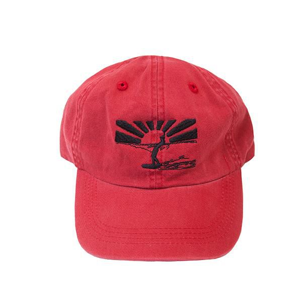 Sunset Surfer Cap - Red