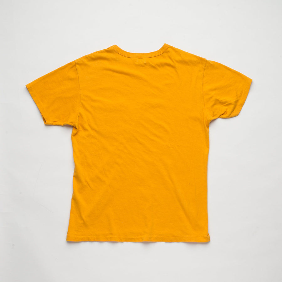 Vintage Wash Pocket T-Shirt Gold