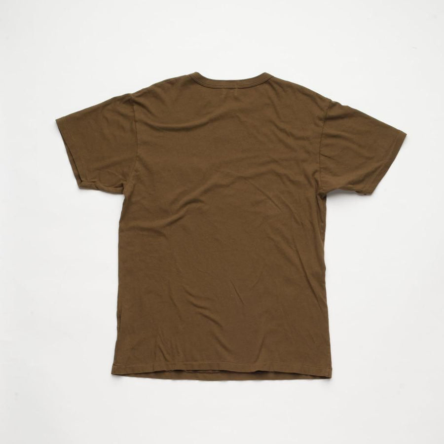 Vintage Wash Pocket T-Shirt Dark Olive