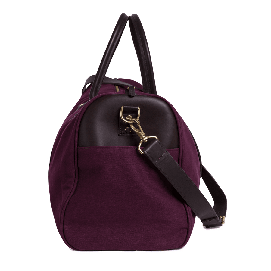 Burgundy Hoxley Weekend Bag