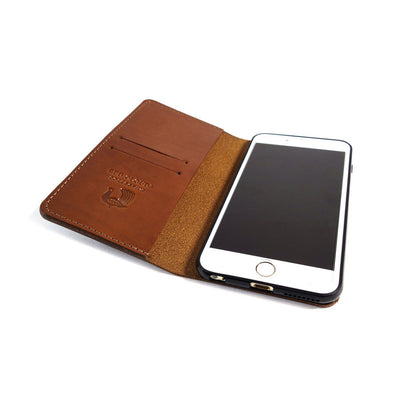theGOODbook™ 6 Plus - Saddle Tan