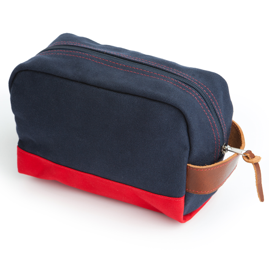 Stay Sharp Shaving Kit Bag - Navy