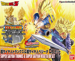 FRS DBZ Super Saiyan Trunks & Super Saiyan Vegeta DX Set