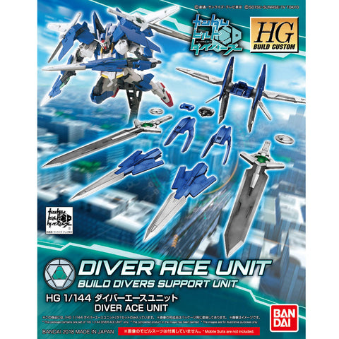 HG BFD 1/144 Diver Ace Unit