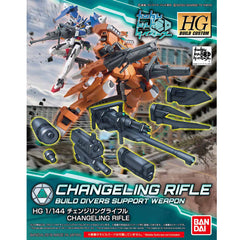 HG BFD 1/144 Changeling Rifle