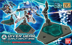 HG BFD 1/144 Diver Gear (Display Base)