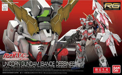 RG 1/144 LTD Unicorn Dessinee