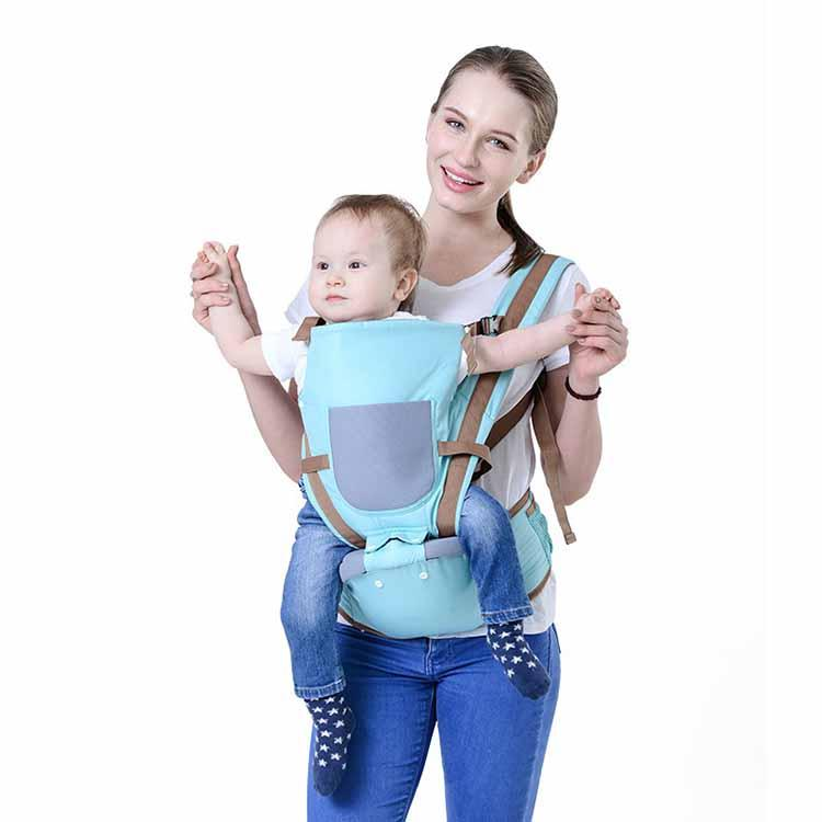 Fabric Baby Chest Carrier Seat