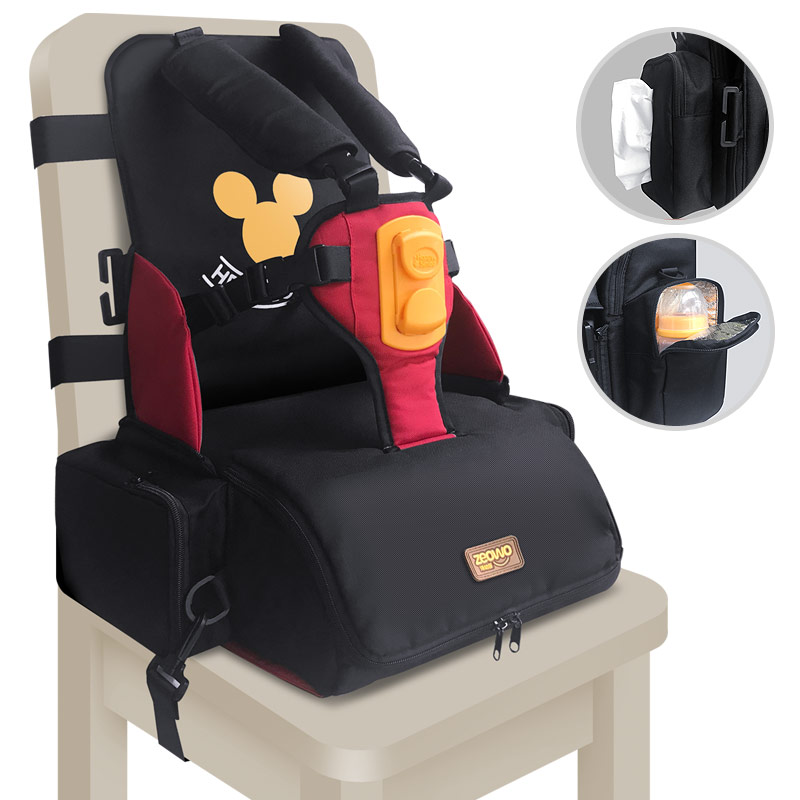 Fashionable 3 in 1 Diaper Bag with Portable Infant Seat