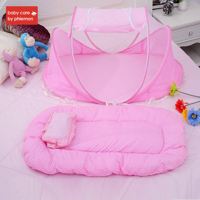 Portable Baby  Folding Bed with Mosquito Net