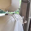Metal Headrest Hook - comfortake