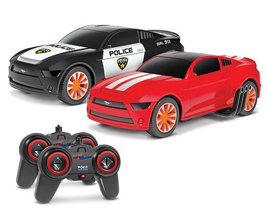 Ford Mustang 2.4GHz 1:20 Battle Pursuit RC Flip Action Cars