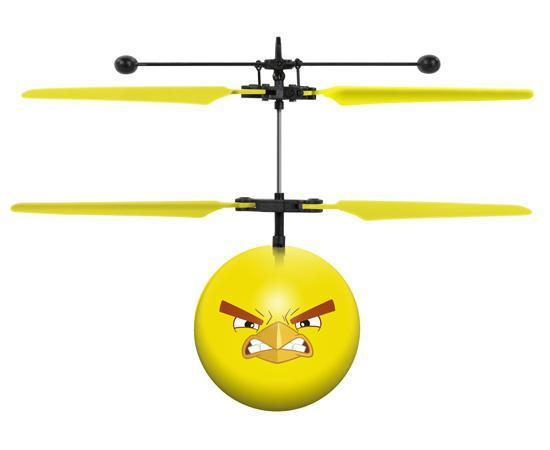 Rovio Licensed Angry Birds Chuck IR UFO Heli Ball