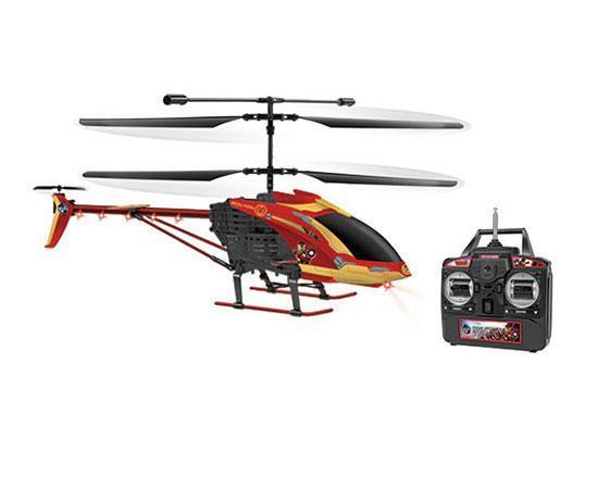 Marvel Licensed Avengers Iron Man 3.5CH RC Helicopter