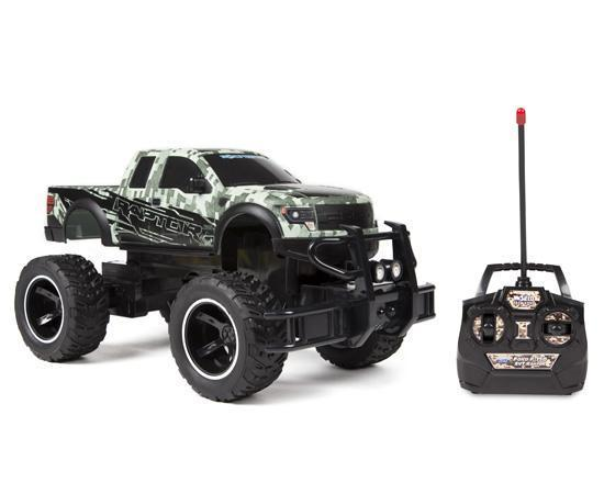 World Tech Toys Ford F-150 SVT Raptor Digital Camo 1:14 RTR Electric RC Monster Truck