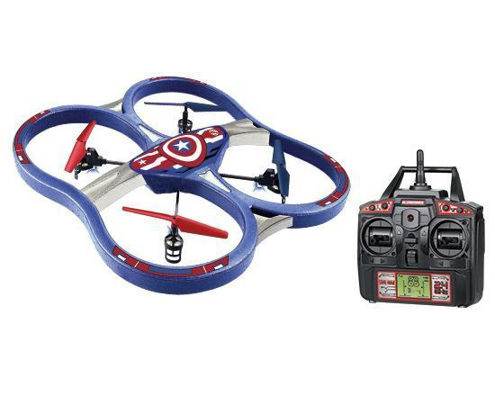 Marvel Licensed Avengers Captain America 2.4GHz 4.5CH RC Super Drone