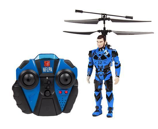 NFLPA Licensed Andrew Luck BlitzBots 3.5CH IR RC Helicopter