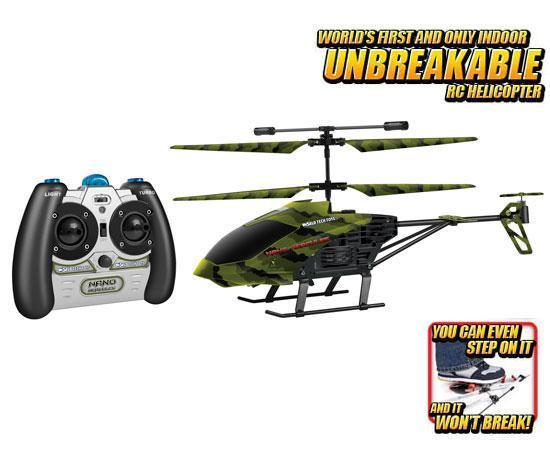 Camo Nano Hercules Unbreakable 3.5CH IR RC Helicopter
