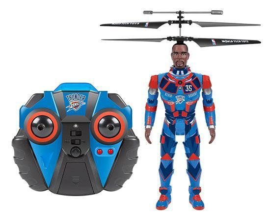 NBA Licensed Oklahoma City Thunder Kevin Durant Robojam 3.5CH IR RC Helicopter