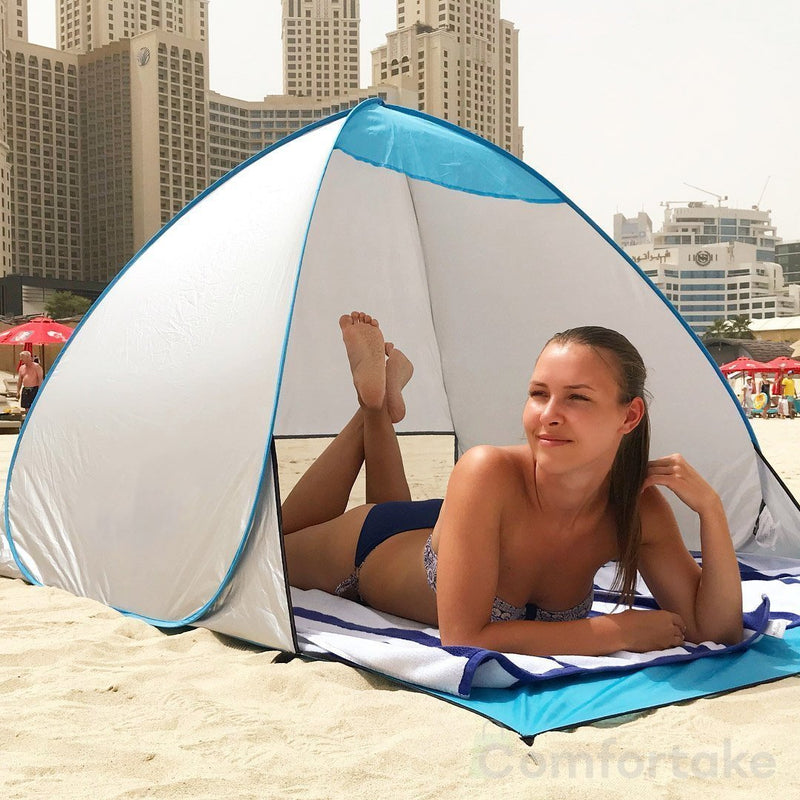 Automatic Easy Pop-Up UV Tent - comfortake