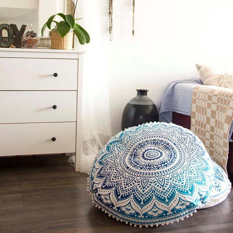 Boho Floor Pillow Cover - comfortake