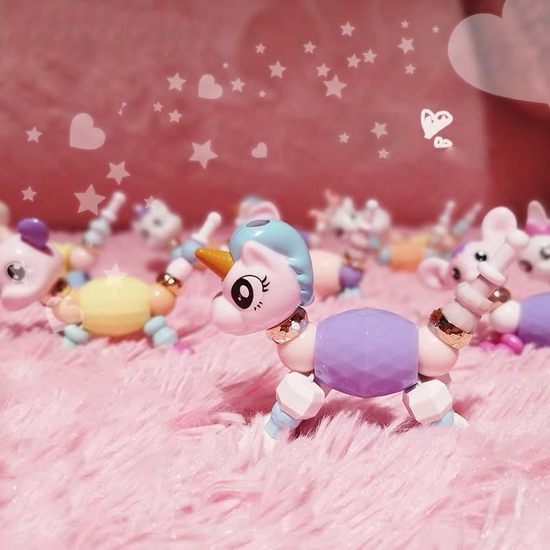 DIY Cute Magic Animal Bracelets - comfortake