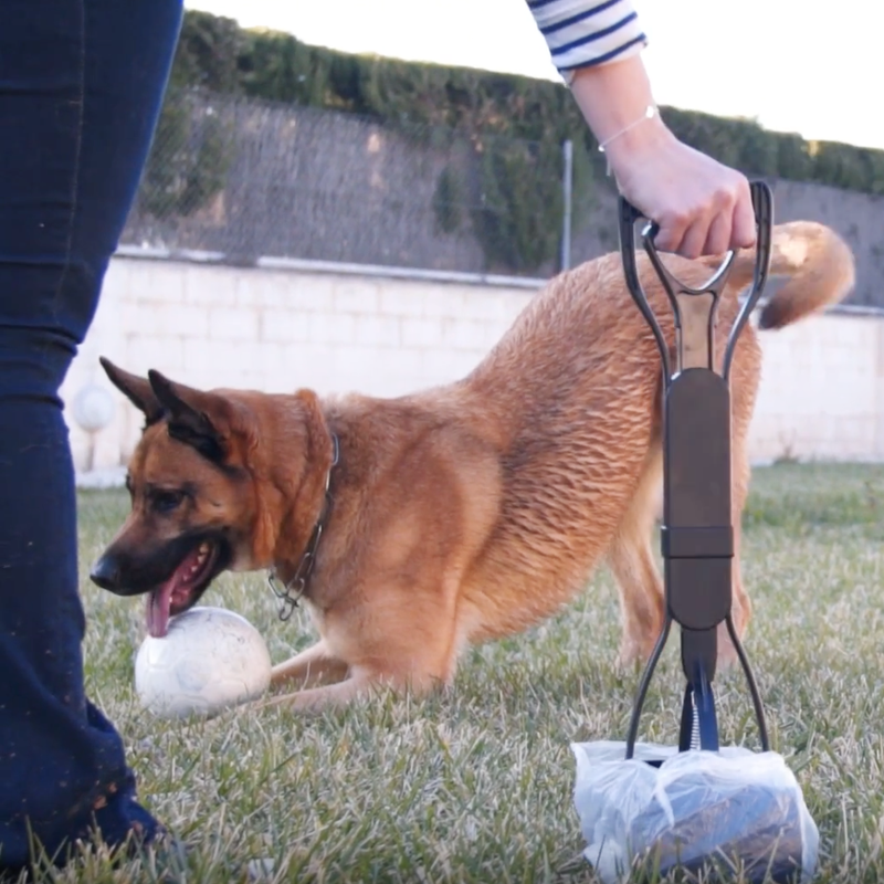 Dog Long-Handle Pooper Scooper - comfortake