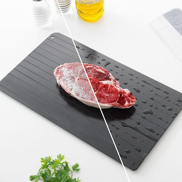 Fast Defrosting Tray For Frozen Foods - comfortake