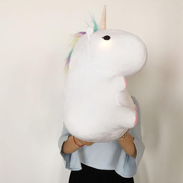 Glowing Chubby Unicorn - comfortake