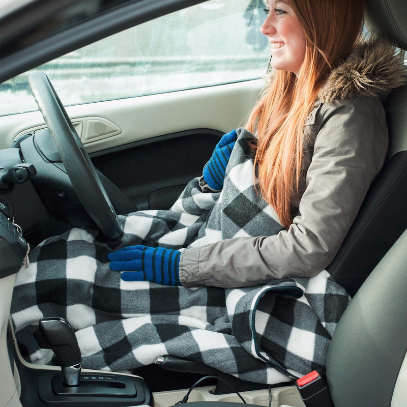 Premium Cozy Car Heating Blanket - comfortake