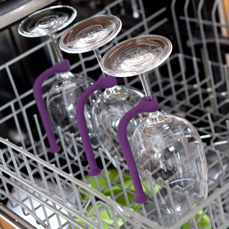 Silicone Wine Glass Holder for Dishwasher Set - comfortake