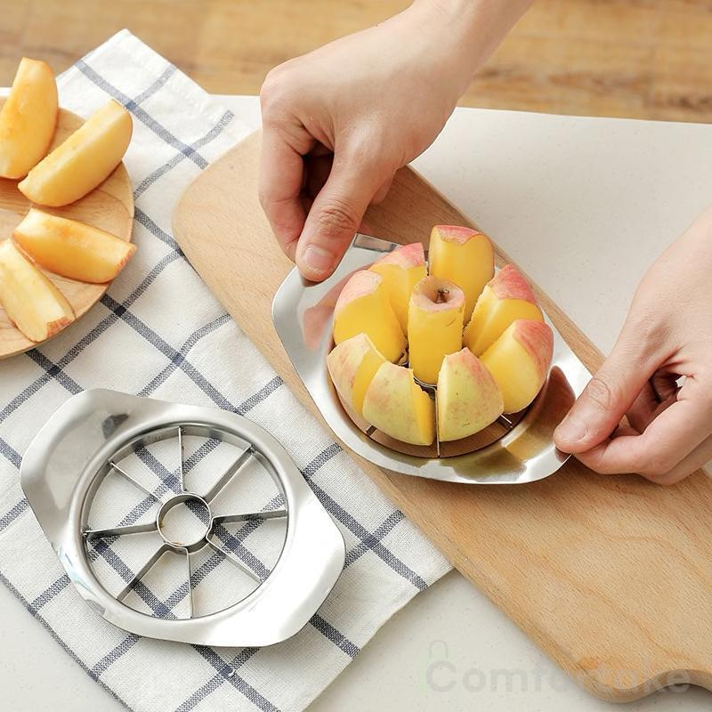 Stainless Steel Apple Cutter Slicer - comfortake