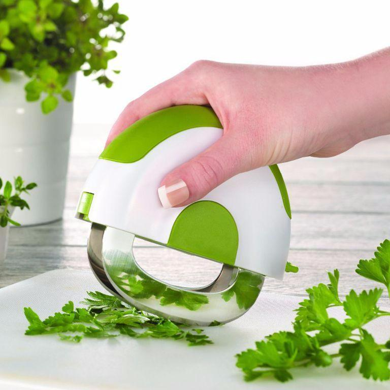 Herb Slicer Knife Double Chopping Blade