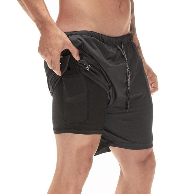 Secure Pocket Shorts - comfortake
