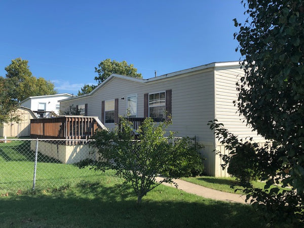 #129 For Sale - Will Finance - $660 / Mo - 2007 - 24x56 - 3BR, 2BA