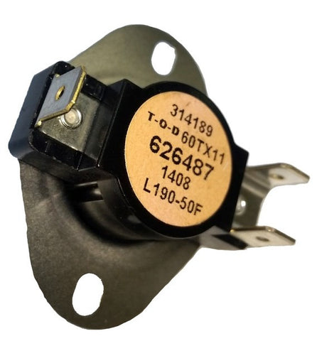 Limit Switch - L190-50 Coleman/Evcon OEM 3112-3281