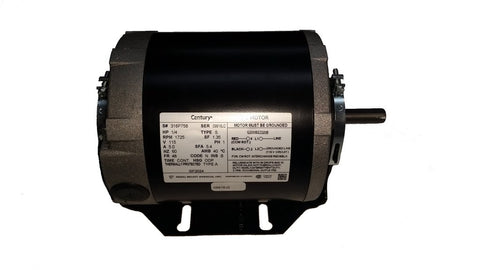 48 Frame Motor;  115V, 1/4 HP, 1725 RPM, 1 Speed, GF2024
