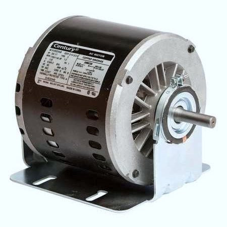 56Z Frame Motor; 115V, 1/3 HP, 1725 RPM, 2 Speed, SVB2034B