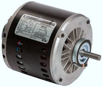 56Z Frame Motor; 115V, 1/3 HP, 1725 RPM, 2 Speed, SVB2034