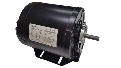 56Z Frame Motor; 115V, 1/3 HP, 1725 RPM, 2 Speed, SGF2034V4