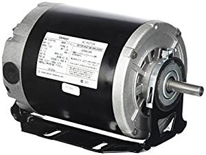 48 Frame Motor; 115V, 1/2 HP, 1725 RPM, 1 Speed, GF2054