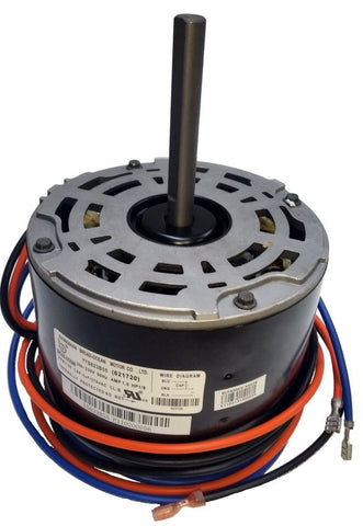"5.5"" AC Condenser Motor; 208-230V, 1/8 HP, 1100 RPM, 1 Speed, 621720"
