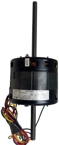 Double Shaft Motor; 115V, 1/4 HP, 1650 RPM, 3 Speed, Dometic Penquin 3108706924