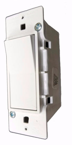Wall Switch - Rocker, 1 PC, White