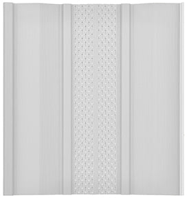 Vinyl Skirting Panels - Vented White - Sold by Box of 12